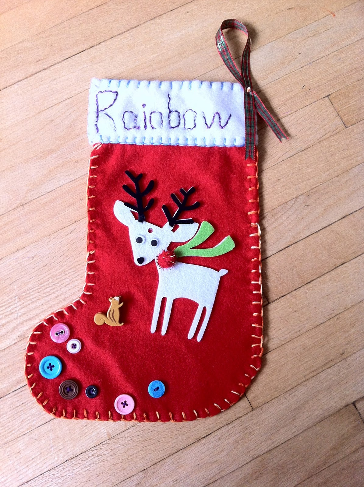 how to make personalized christmas stocking - How To Make A Christmas Stocking