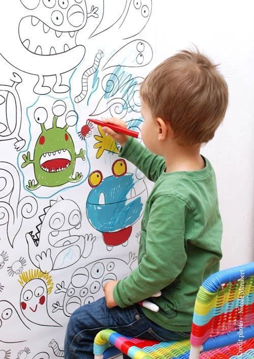 Imagenes para dibujar pintados imagui - Dibujos para paredes infantiles ...