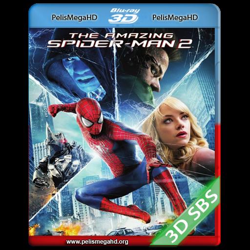 THE AMAZING SPIDER-MAN 2: EL PODER DE ELECTRO (2014) FULL 3D SBS 1080P HD MKV ESPAÑOL LATINO
