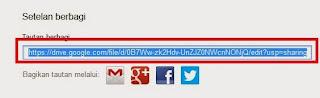 Mengambil Link File Hasil Upload di Google Drive
