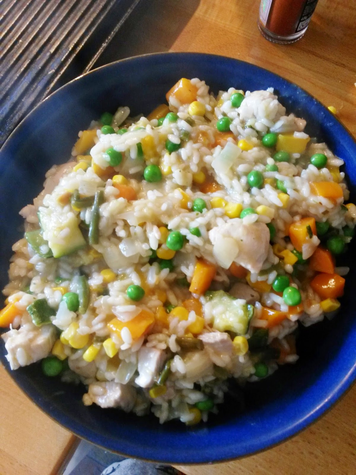 Best chicken and vegetable risotto recipe