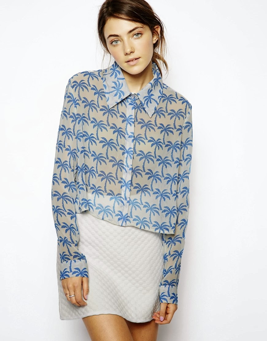 sister jane palm tree blouse