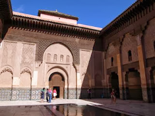 Ben Youssef Madrasa in Marrakech