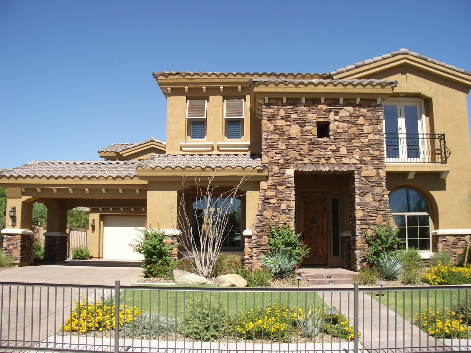 Tuscan design homes