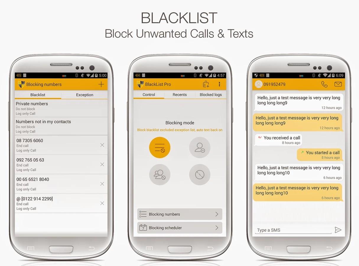 Blacklist Pro v4.1 Apk