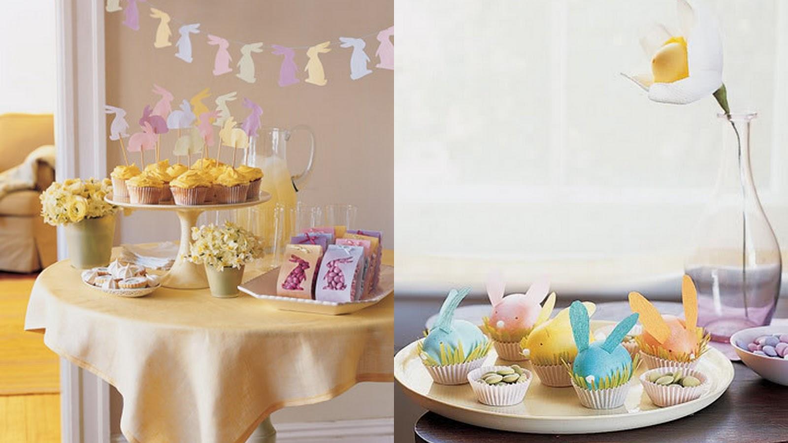 Spanglish chic easter ideas ideas para celebrar pascua - Ideas para decorar mesas ...