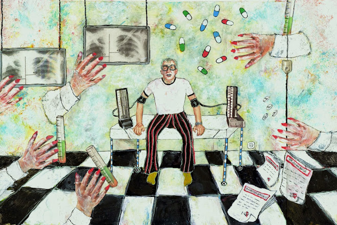 illustration pour le monde science et médecine (journal le monde daté du 17 sept.2014)