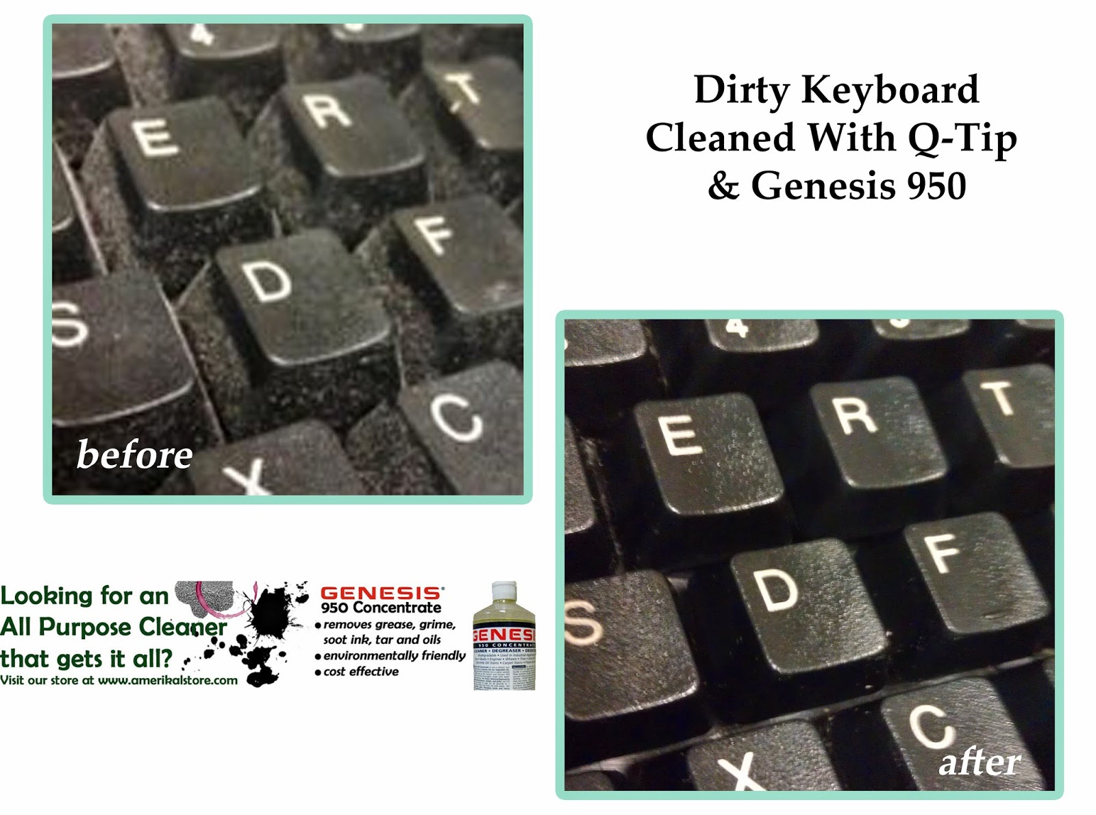 Clean Keyboards
