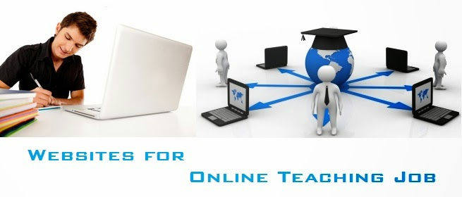 Websites for Online Teaching Job