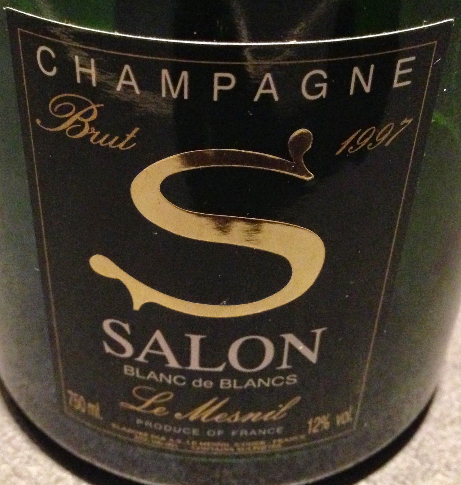 Champagnebloggen 1997 salon for 1997 champagne salon