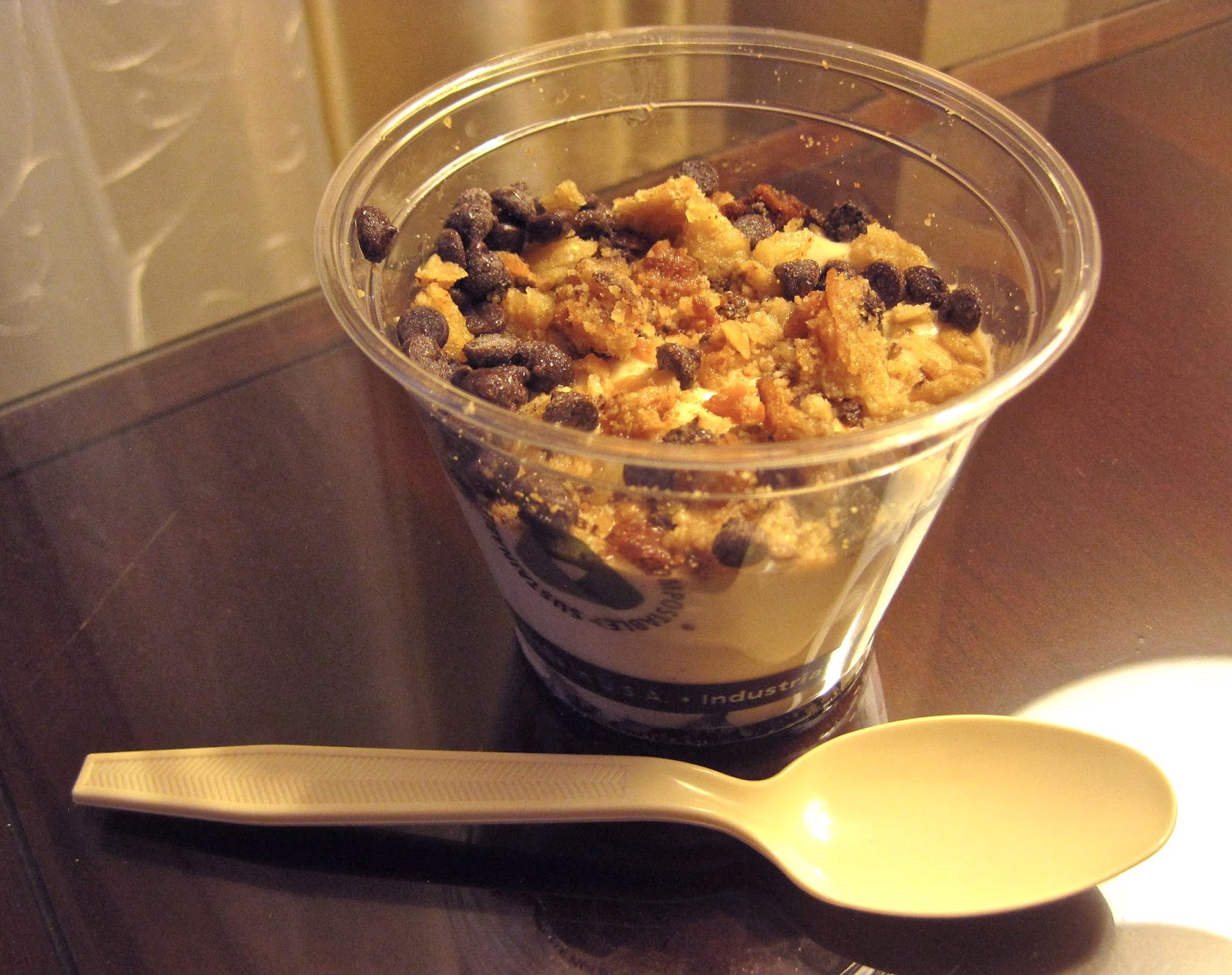 Native Foods Cafe Peanut Butter Parfait
