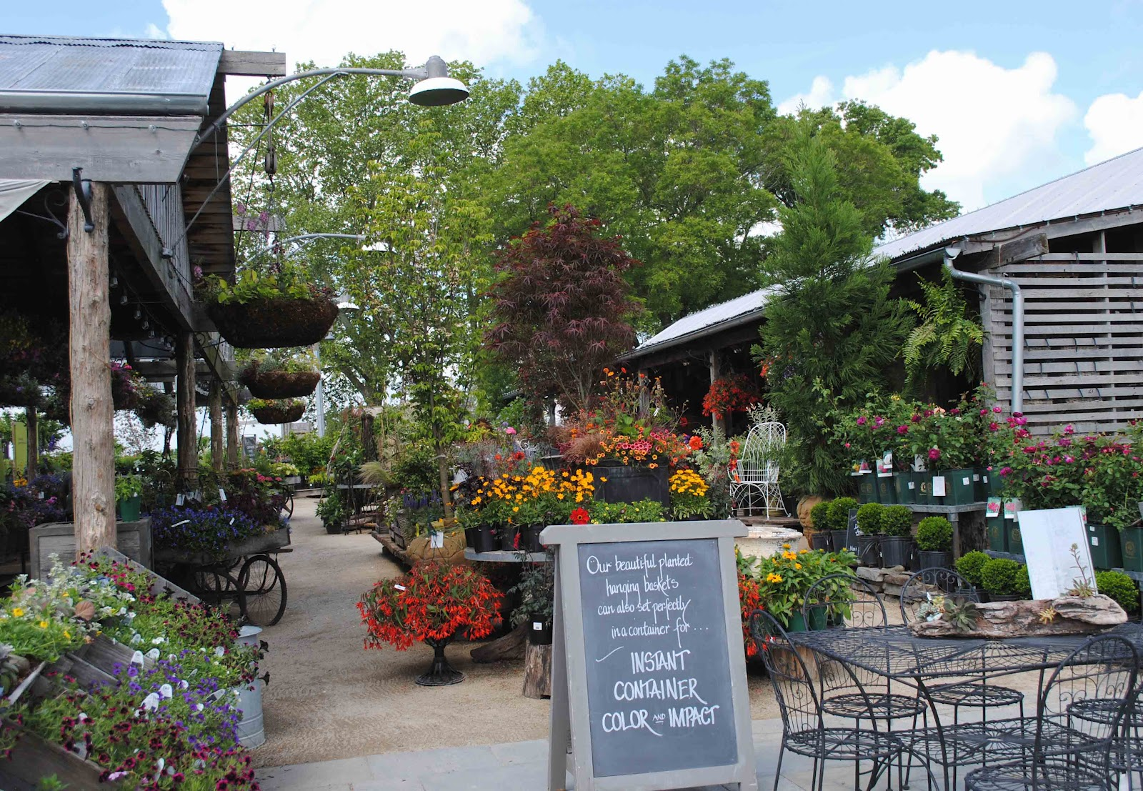 Tone on tone shopping at terrain for Idea center dilshad garden