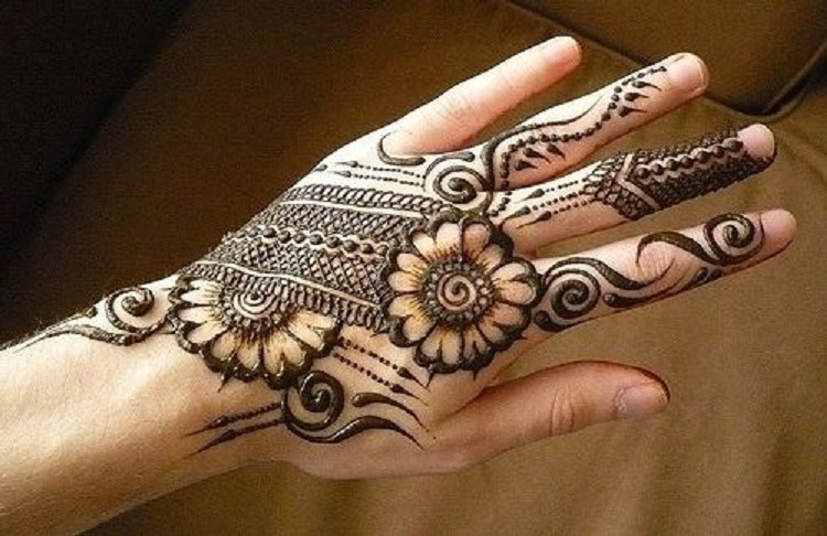 Mehndi Designs Please : Mehndi design for hand download unique white