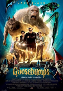 Sinopsis Film Movie Goosebumps 2015