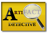 Artifact Detective logo with magnifying glass