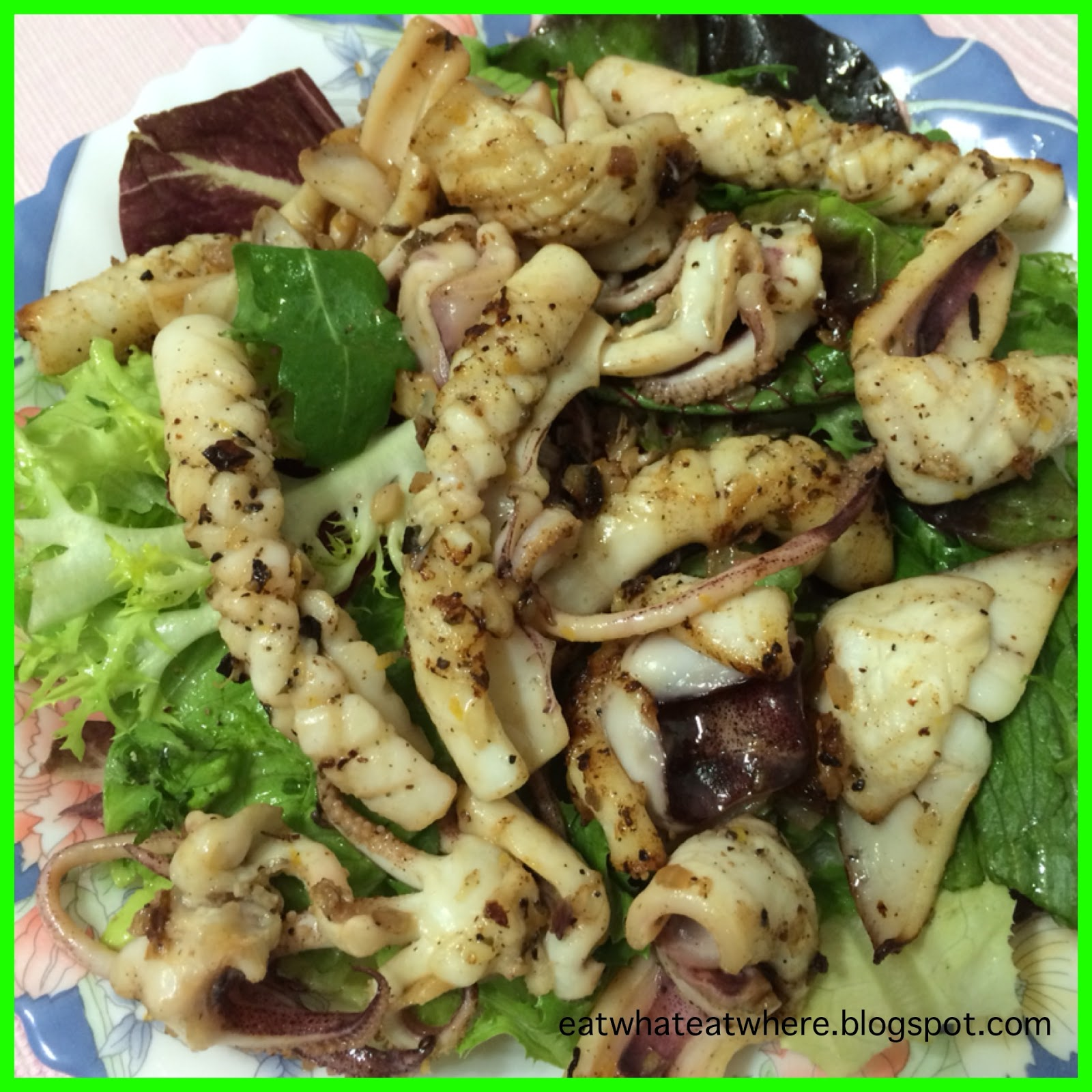 recipe: char grilled calamari salad [35]