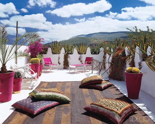 Farbe für Terrasse, Balkon und Garten - streichen Sie einfach Ihre Blumentöpfe an!
