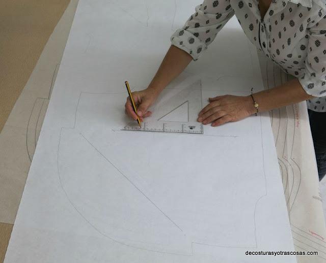 patterns draped top