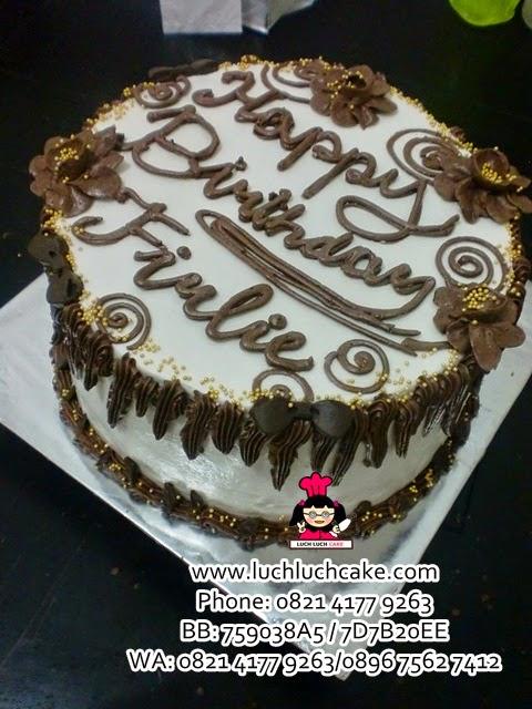 Kue Tart Simpel Daerah Surabaya - Sidoarjo
