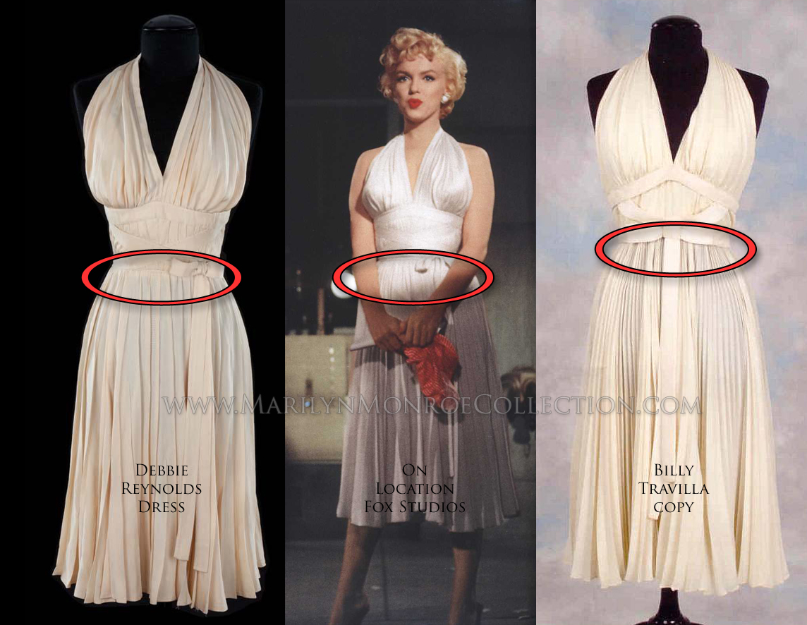 The Dress Worn by Marilyn