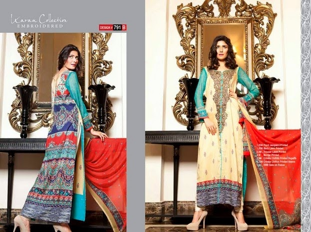 Karam Summer Collection 2014