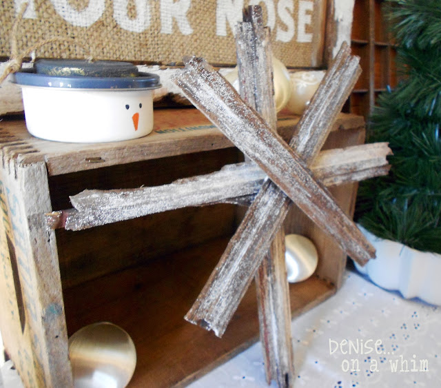 A Rustic Christmas Star is Born!