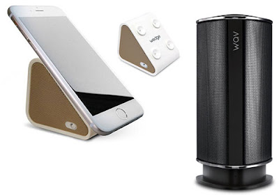 Antec Wav and Wedge speaker for your Smart Phone