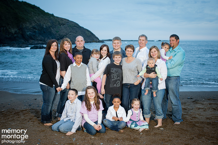 lincoln city oregon family photo session