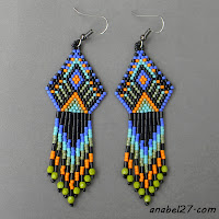 free peyote pattern beading beadwork beadweaving 