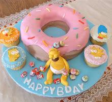 Torta Homer Simpson n°2
