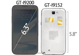 Spesifikasi Samsung Galaxy Mega 5,8 Inchi dan 6,3 Inchi