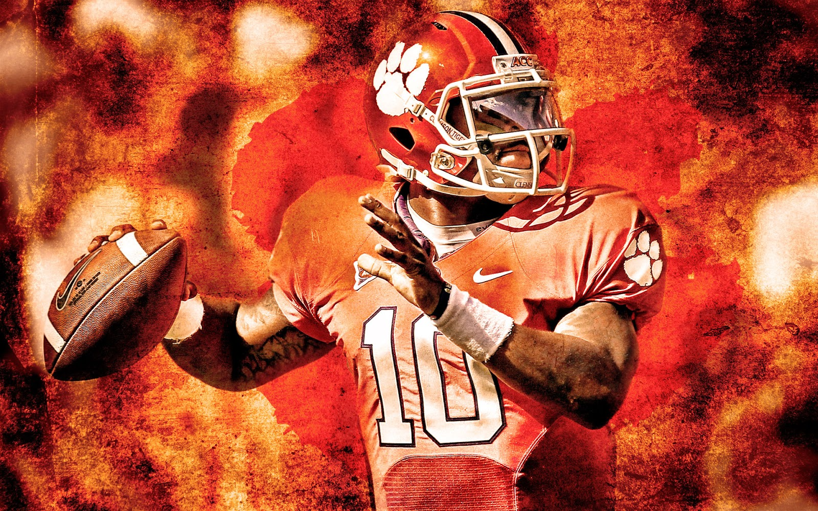 clemson tigers wallpaper relay wallpaper