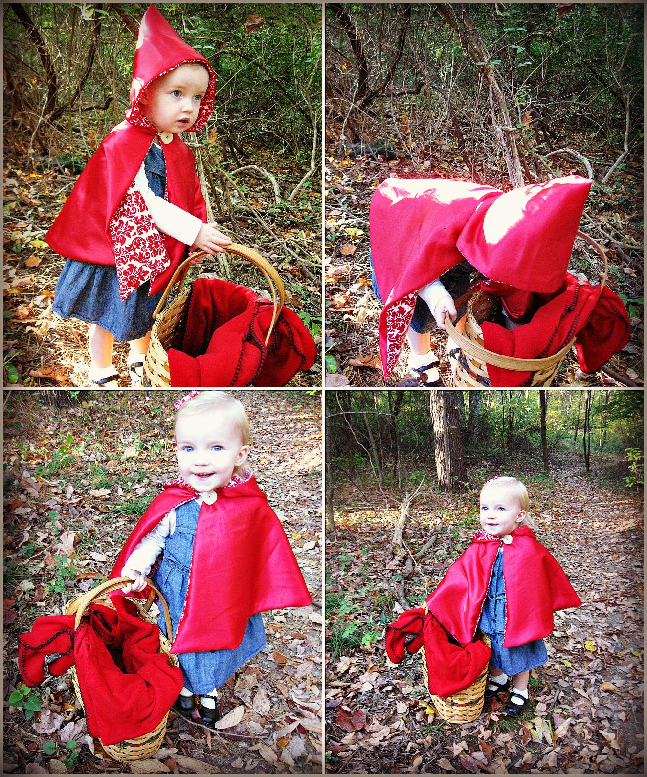 Красная шапочка для костюма своими руками 698