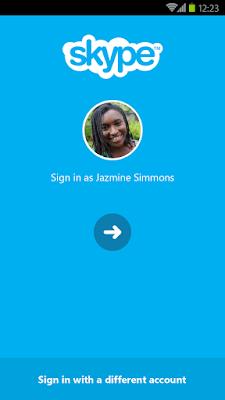 Skype 5.5 android செயலி