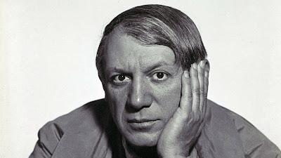 Picasso gefotografeerd Man Ray