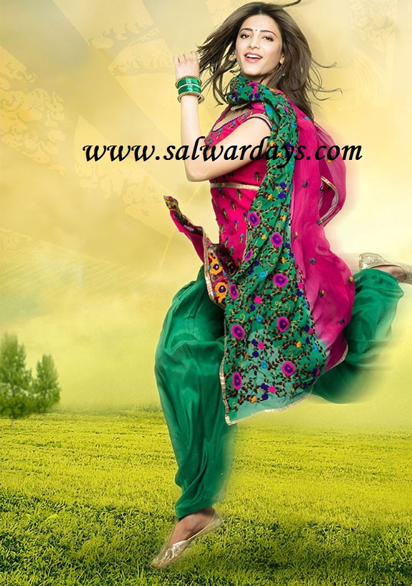 Shruti Seth In Salwar