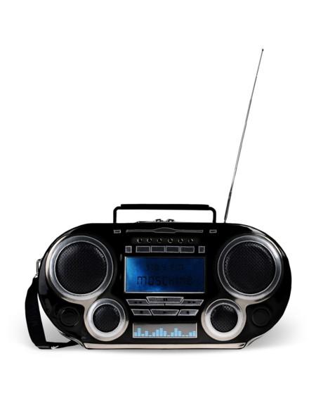 Bolso radio de Moschino