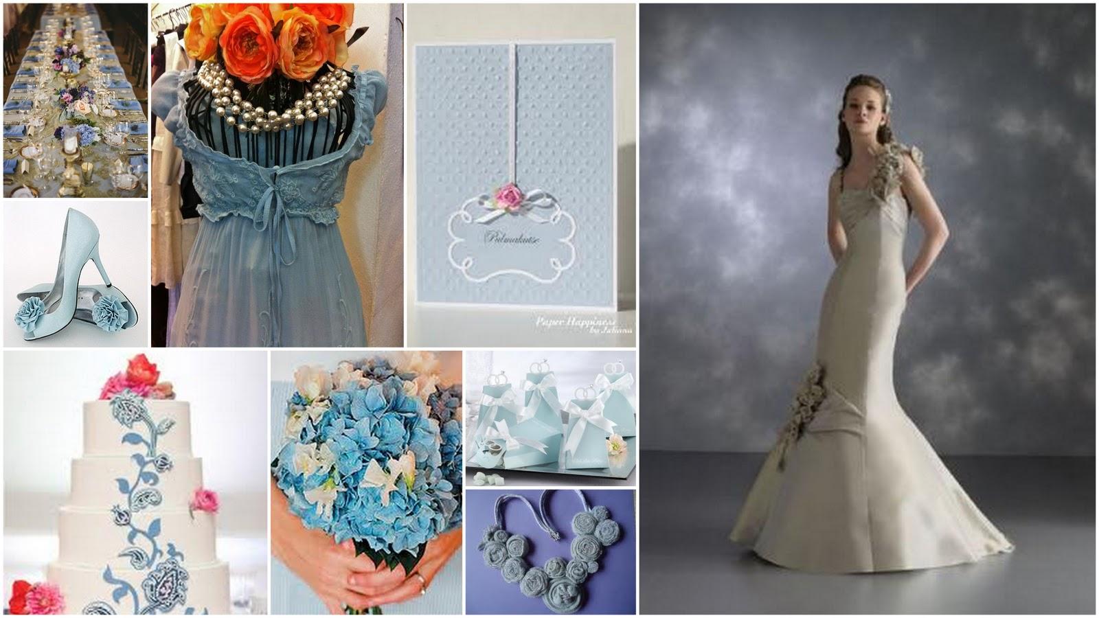 Country Weddings Italy Powder Blue Wedding Inspirations