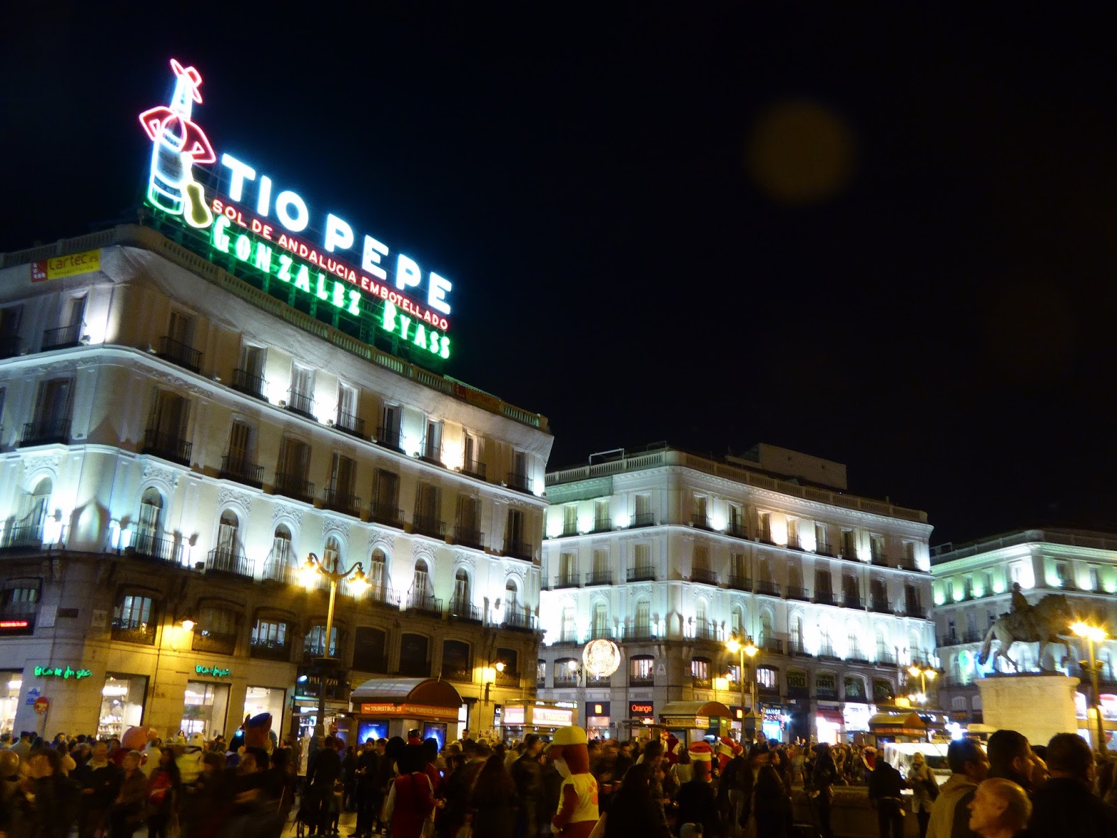 Traveling by gatufo madrid is not olympic for Km 0 puerta del sol