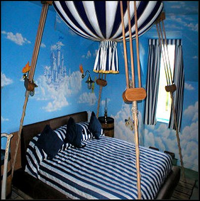 hot air balloon bedroom ideas decorating with hot air balloons - Hot Bedroom Designs