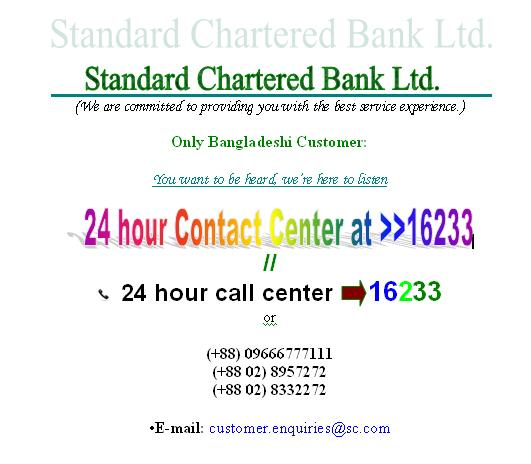 Std Chartered Bank Bd Idealstalist