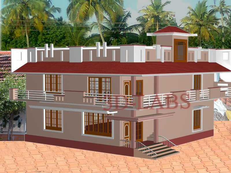 House plan elevation civil architectural drawing works Civil home design