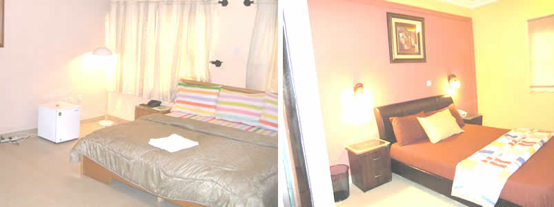 Lavida Suites Enugu bedroom