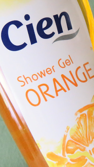 CIEN shower gel orange