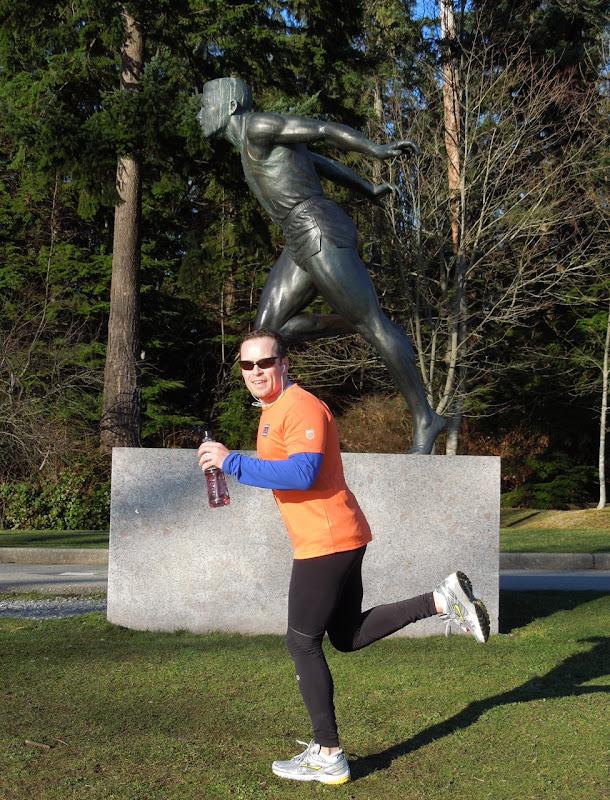 Stanley Park runners
