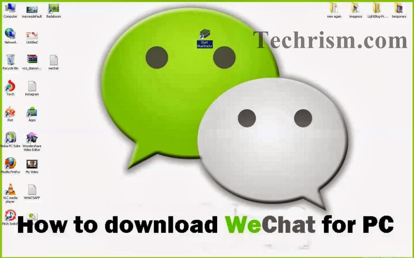 Download WeChat fr PC / Laptop Windows- 7/8/81