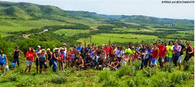 Turismo deportivo de Veleda running a serranías de Rivera con 8k y 3k incluidos (02a05/abr/2015)