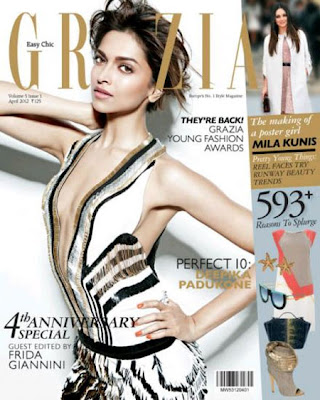 Deepika-Padukone-Pose-On-The-Cover-Of-Grazia-Gucci-Spring-2012