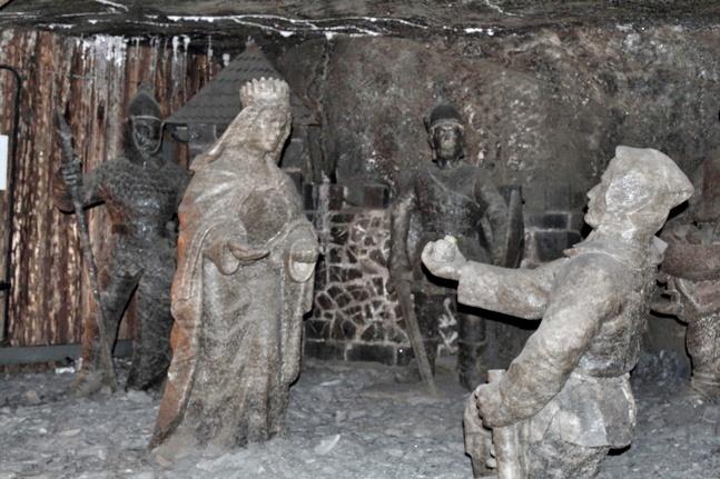 Historias de princesas prometidas en las Minas de Sal de Wieliczka