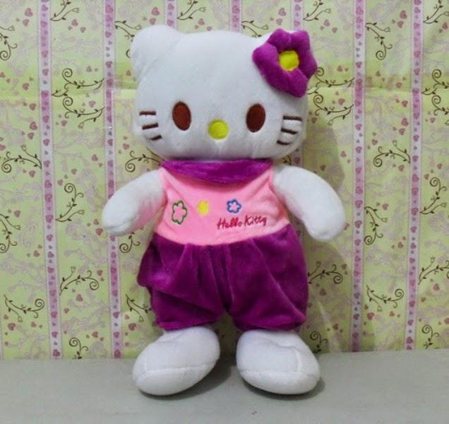 Gratis gambar boneka hello kitty ungu